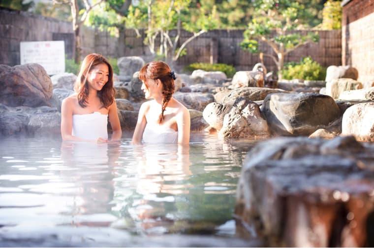 露天風呂の写真